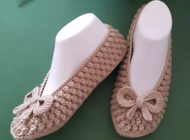 Popcorn Booties Pattern For Free