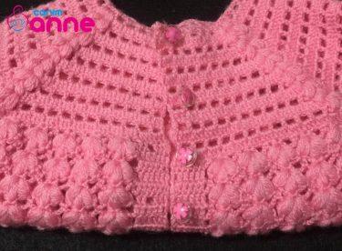 Crochet Baby Girl Vest