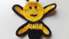 Crochet Bee Motif Pattern
