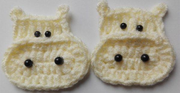 Crochet Cow Figure Pattern
