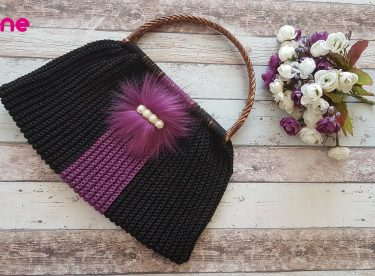 The easiest crochet handmade summer bag pattern