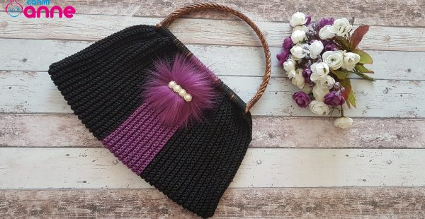The easiest crochet handmade summer bag pattern