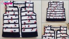 Zippered Baby Vest Pattern