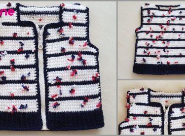 Zippered Baby Vest Pattern