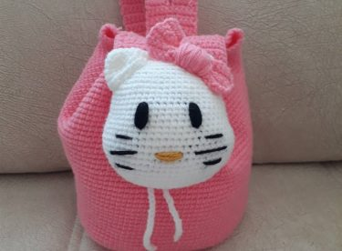 Hello Kitty Backpack Pattern