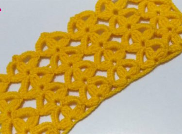 Crochet simple weave pattern