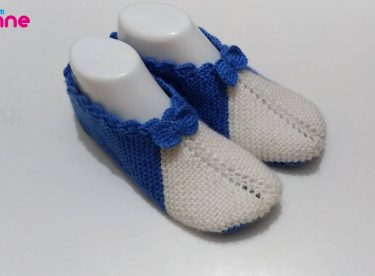 Two Skewers Easy Booties Pattern  For Free