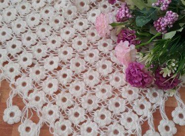 Daisy shawl pattern
