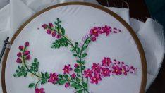 Ribbon embroidery drawing samples