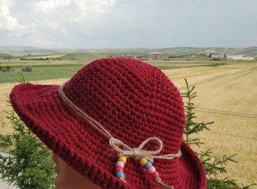 Crocheted Summer Hat Pattern