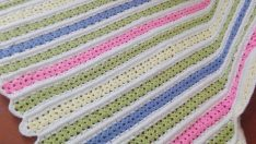 Water Stone Pattern Baby Blanket Free Easy