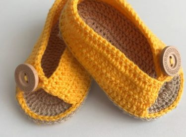 Simple Baby Shoes Pattern Free