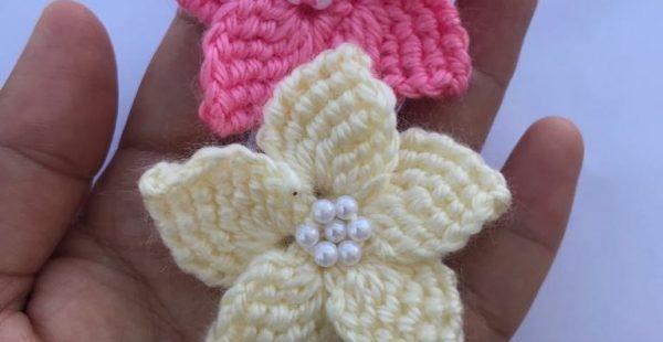 Tunisian Work Flower Pattern Free