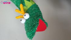 Socks from Frog Hand Puppet DIY